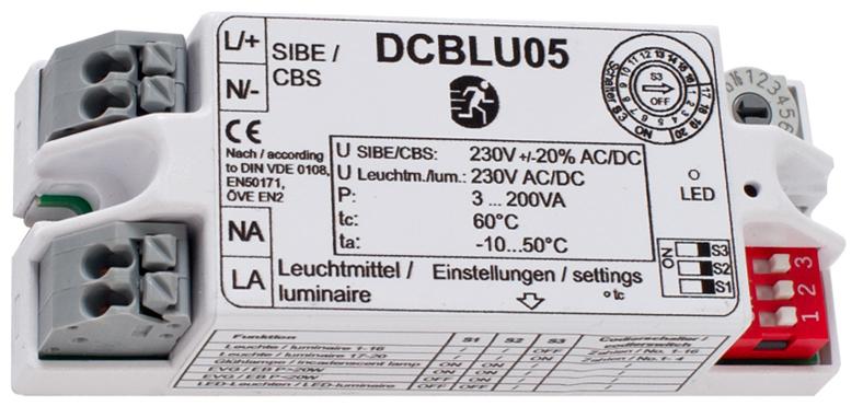 Überwachungsbaustein - DCBLU05