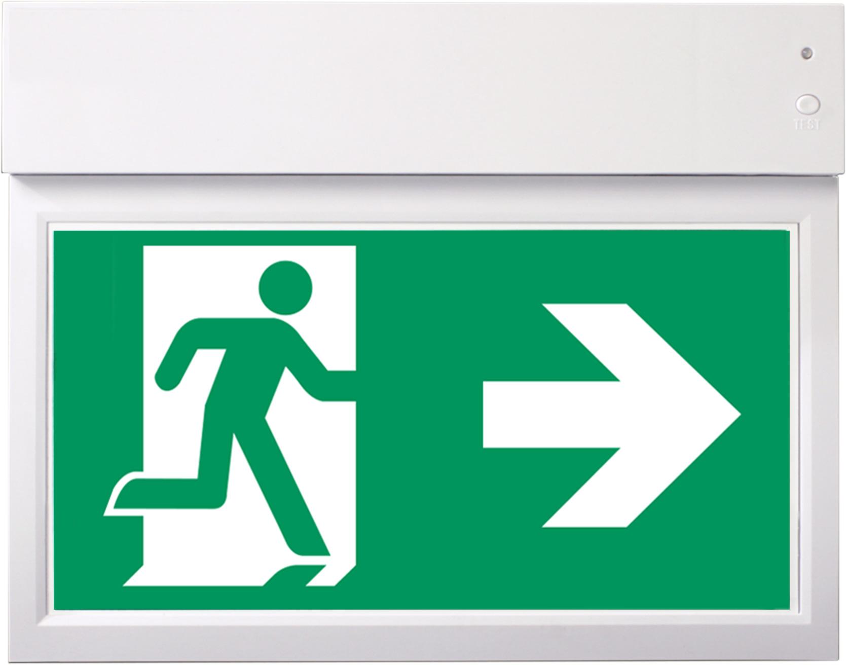 Rettungszeichenleuchte - GM