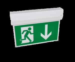 KX Rettungszeichenleuchte ohne klare Haube