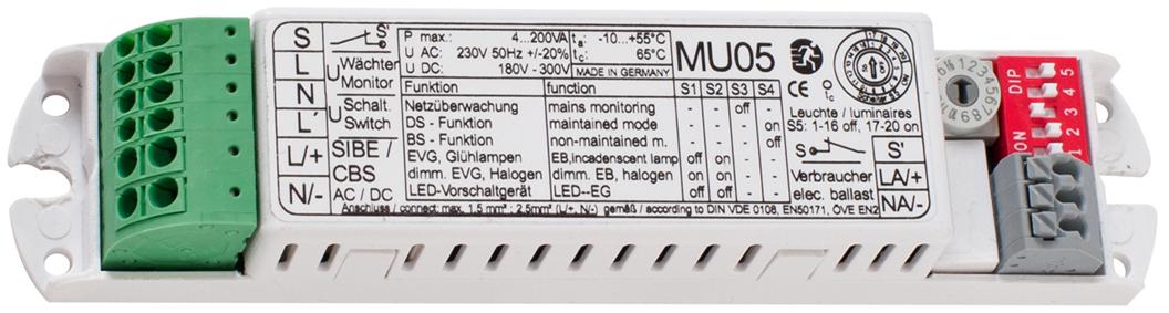 Überwachungsbaustein - MU05