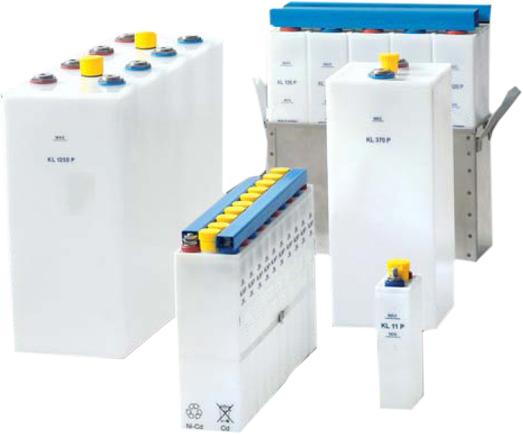 Stationäre Batterien - NiCD