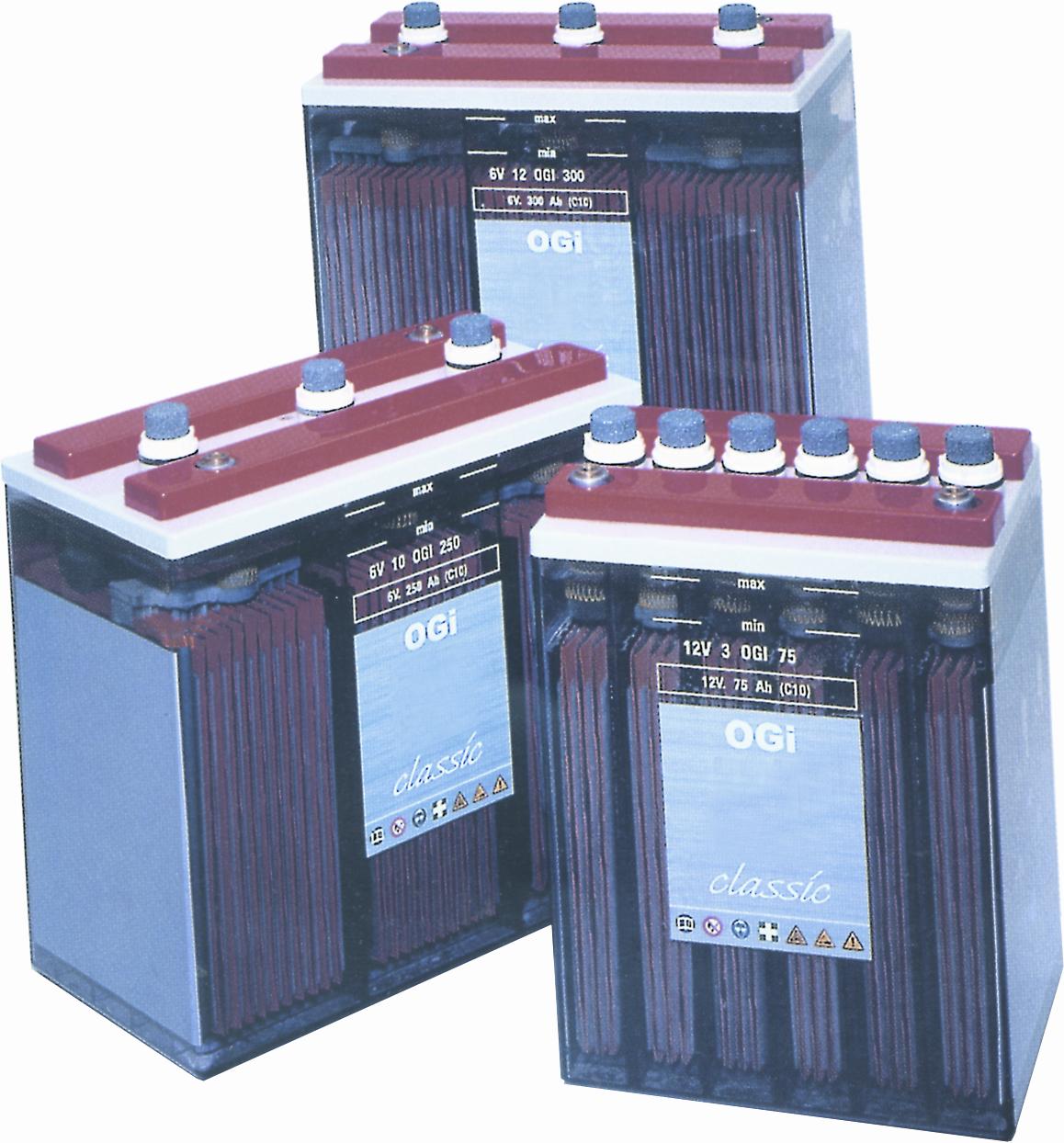 Stationäre Batterien - OGi