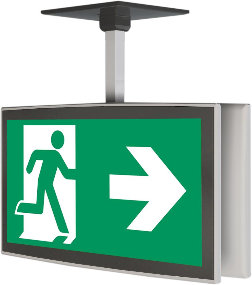 Rettungszeichenleuchte - OLED
