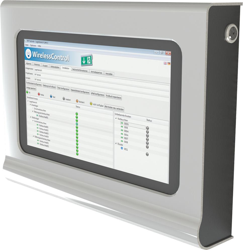 Notlichtsysteme - WirelessControll