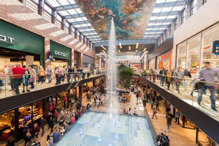Einkaufscenter Emsgalerie in Rheine